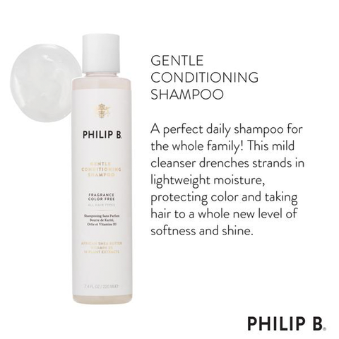 Gentle Conditioning Shampoo (African Shea Butter)