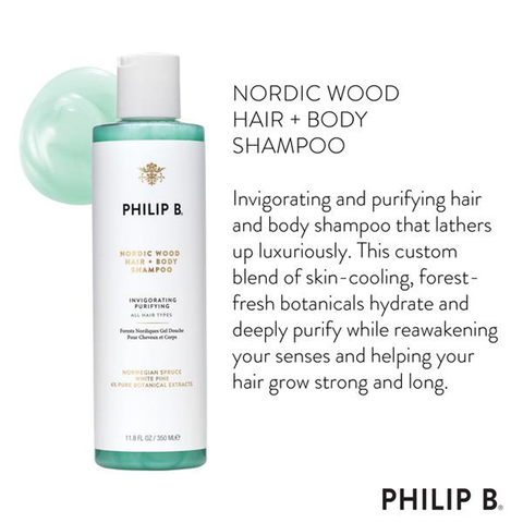 Nordic Wood Hair + Body Shampoo