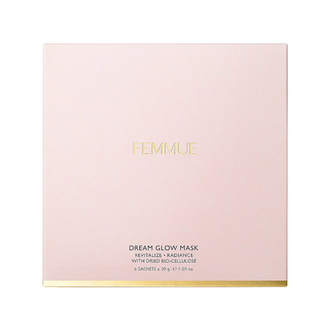Femmue Dream Glow Mask Revitalize Radiance, 30g x6