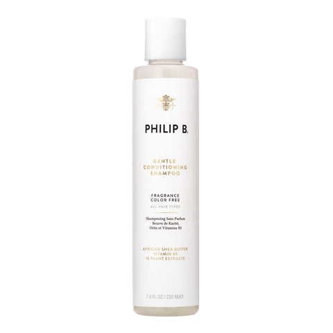 Philip B Gentle Conditioning Shampoo (African Shea Butter Shampoo), 220ml