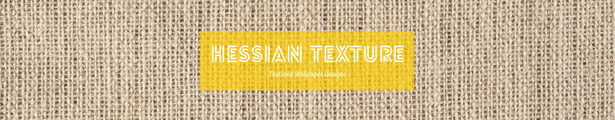 Hessian Texture Wallpaper