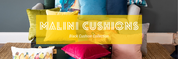 Malini Black Cushion Collection