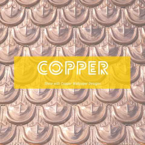 Copper Wallpaper | Metallic Wallpaper | Shiny Wallpaper