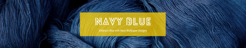 Navy Blue Wallpaper Collection | Shop by Colour - Navy