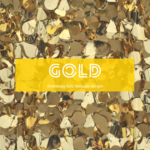 Gold Wallpaper | Metallic Wallpaper | Sparkle Wallpaper