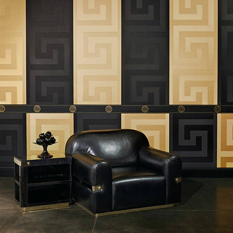 Versace Greek Key Wallpaper