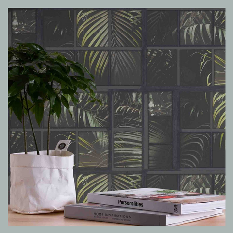 Tropical Palm Panel Wallpaper by AS Creation