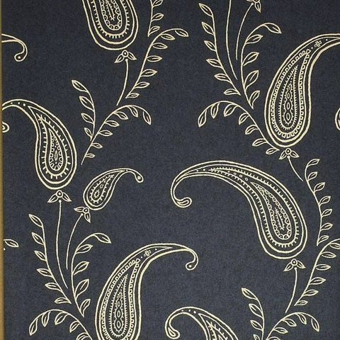 Paisley Black/Gold