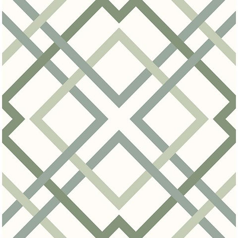A Street Prints Wallpaper | Saltire Green | FD25437
