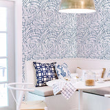 Fine Decor Wallpaper | BrushStroke Navy | FD25504