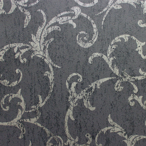 Graham & Brown Wallpaper | Empress Scroll Black/Gold | 104963