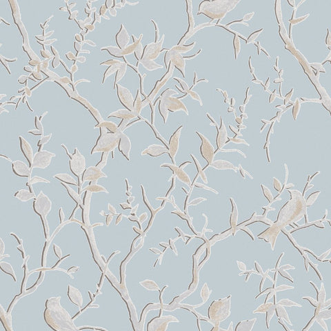 Graham & Brown Wallpaper | Laos Trial Duck Egg | 104127