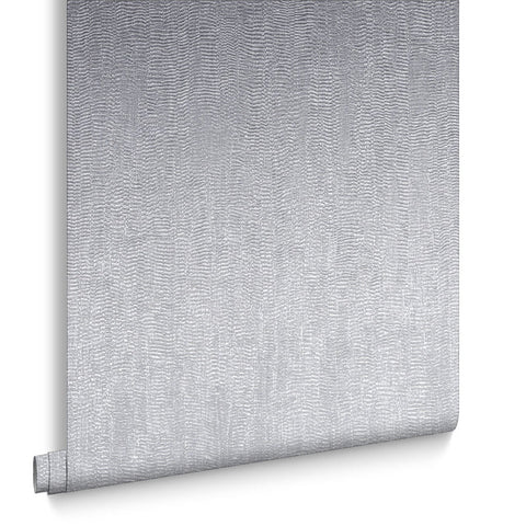 Graham & Brown Wallpaper | WaterSilk Plain Silver | 104761
