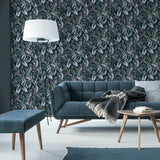 Leave Exotique Green Wallpaper | Graham & Brown Sublime Collection 107010