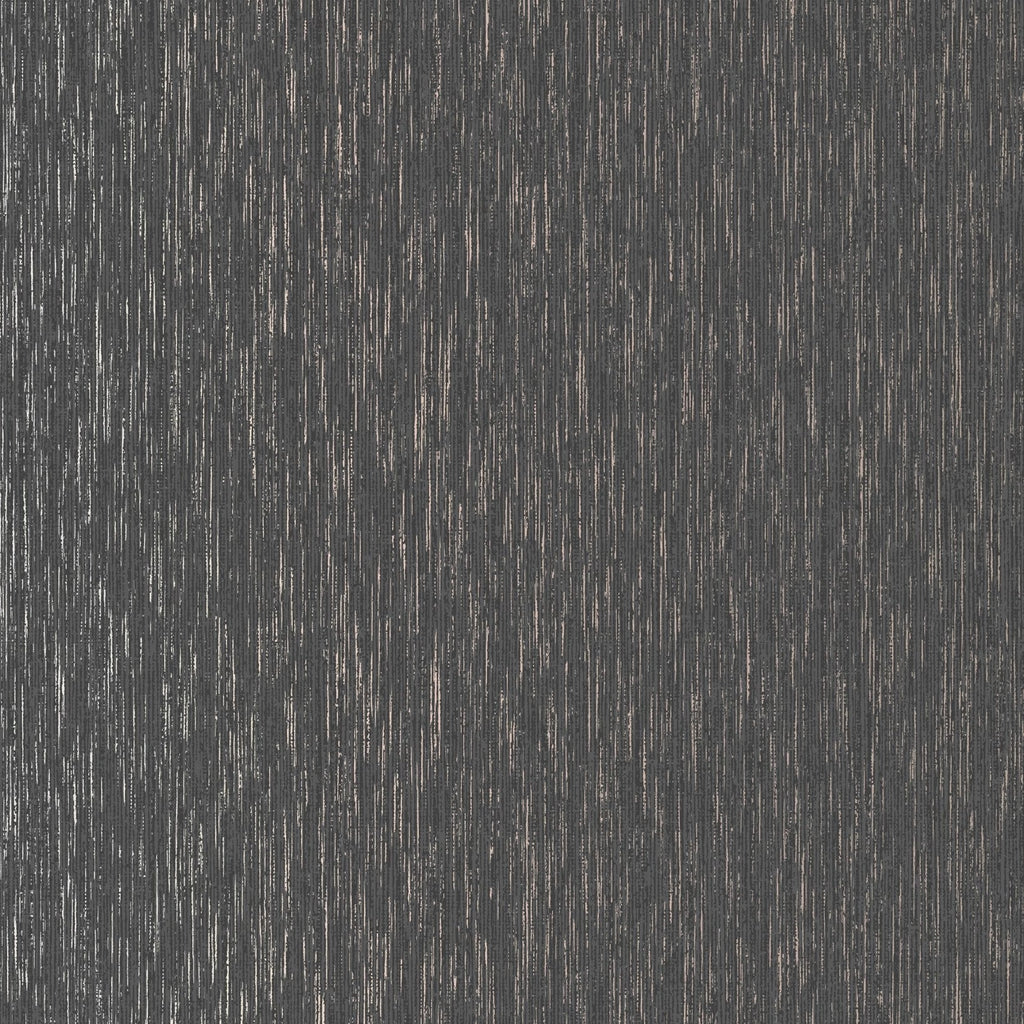 Graham & Brown Wallpaper | Vittorio Plain Charcoal/Rose Gold | 107967