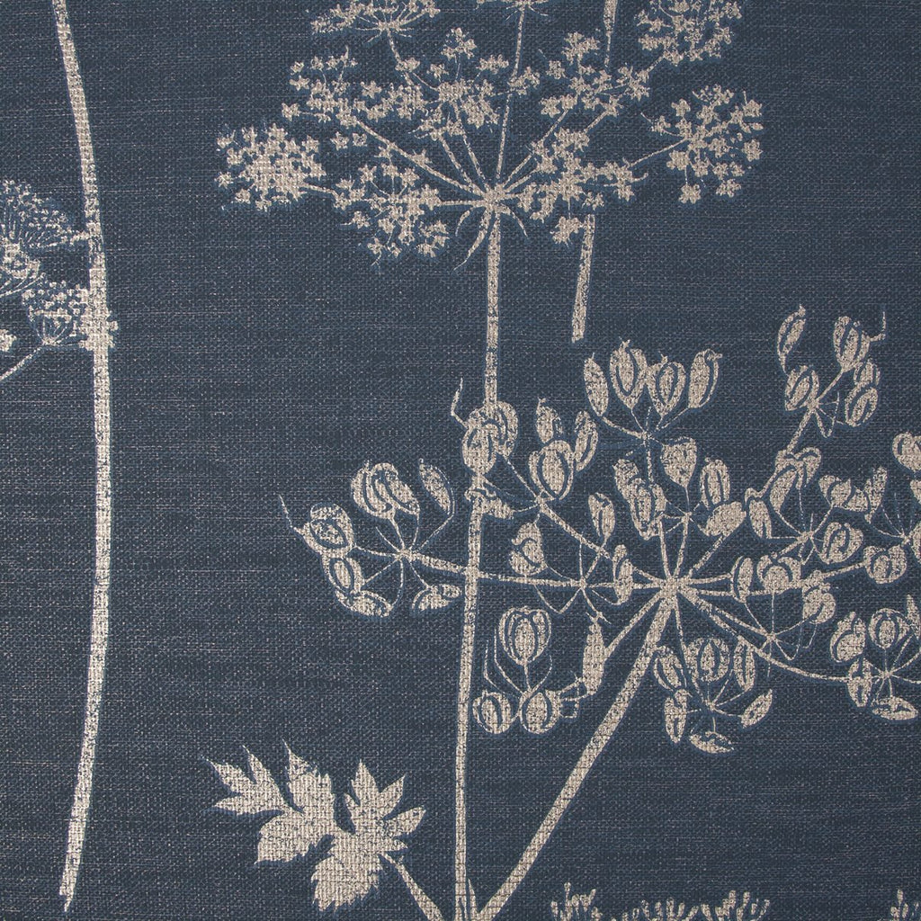 Wild Flower Navy/Copper Wallpaper | Graham & Brown 108620 Superfresco Easy Collection