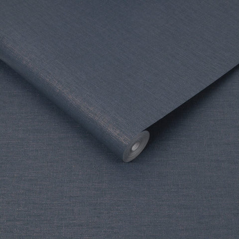 Heritage Texture Navy Wallpaper | Graham & Brown 108621 Superfresco Easy Collection