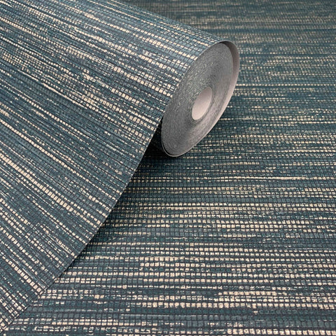 Gilded Texture Emerald Wallpaper | Graham & Brown Boutique 111296