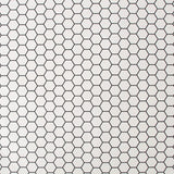Hexagon Lattice White | G&B Contour Wallpaper | 112650
