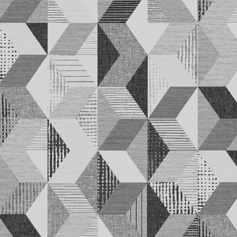 Tribal Geo Monochrome | Graham & Brown Wallpaper | 113483