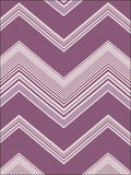 SALE Decor Line Wallpaper | Bearden Chevron Purple | DL20257