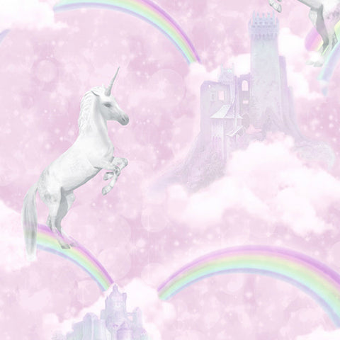 Holden Wallpaper | I Believe In Unicorns Pink | 12480