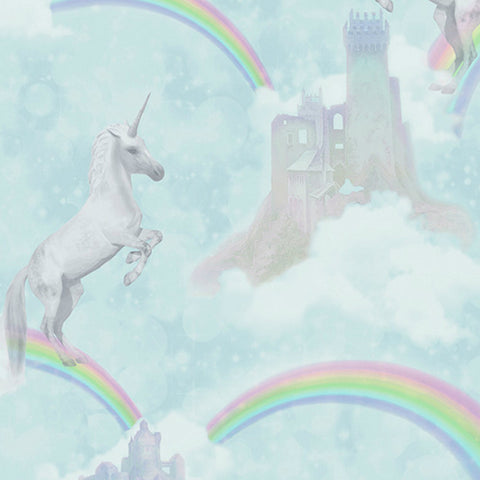 Holden Wallpaper | I Believe In Unicorns Teal | 12481