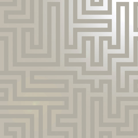 Glistening Maze Taupe | Holden Decor Wallpaper | 12911