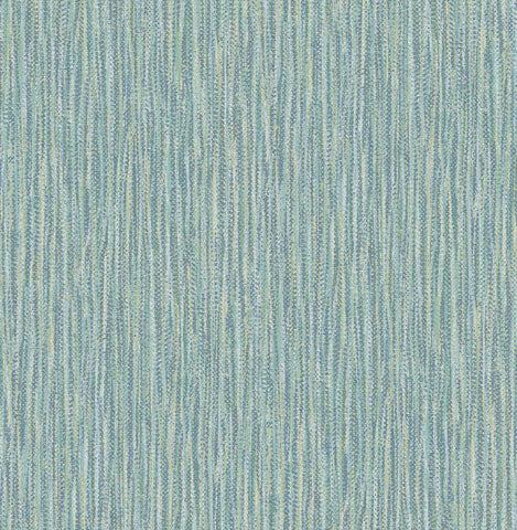 Fine Decor Wallpaper | Raffia Teal | FD25420