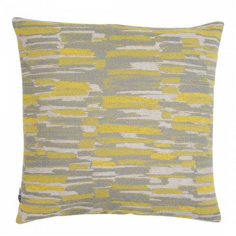 Farnham Green/Grey Cushion
