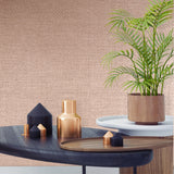 Graham & Brown Boutique Wallpaper | Lux Weave Rose Gold | 104901