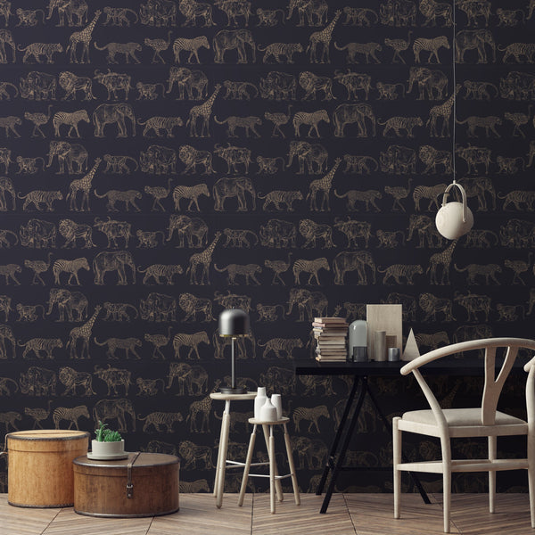 25 Vivacious Kids Rooms With Brick Walls Full Of Personality: Graham & Brown Boutique Wallpaper