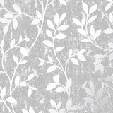 G&B Superfresco Wallpaper | Milan Trail Silver/Grey | 106404