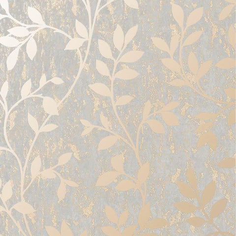 G&B Superfresco Wallpaper | Milan Trail Rose Gold | 106402