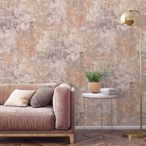 Plaster Blush | GranDeco Life Wallpaper | 170805