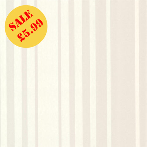SALE DecorLine Wallpaper |  Lewitt Taupe Stripe | DL20224