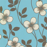 SALE DecorLine Wallpaper | Freud Daisy Teal | DL20266