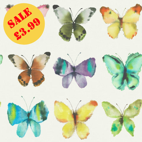 SALE Rasch Wallpaper | Portfolio Butterfly Multi | 273601