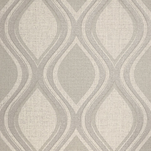 Arthouse Wallpaper | Curve Taupe | 295102