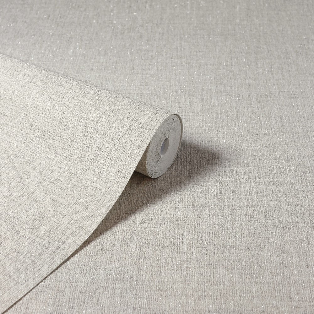 Luxe Hessian Taupe | Arthouse Wallpaper 295402