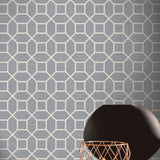 Hotel Luxe Origin Gunmetal | Arthouse Wallpaper 295600