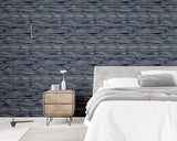 Sahara Denim Blue | Arthouse Luxury Wallpaper | 297700