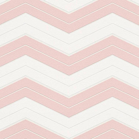 AS Creation Wallpaper | DesignDschungel Chevron Blush Pink | 34242-2