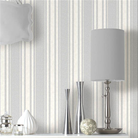 Sale Holden Opus Wallpaper | Grazia Stripe Grey/Silver | 35609