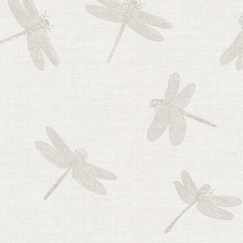 AS Creation Wallpaper | Four Seasons Dragonfly Ivory/Gold | 35897-2