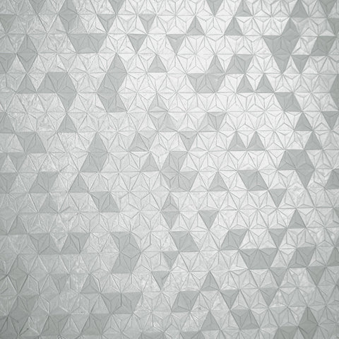 Holden Opus Wallpaper | Origami Texture Grey | 35980