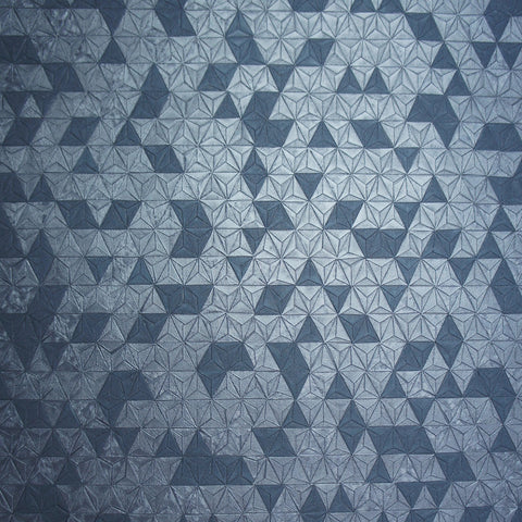 Holden Opus Wallpaper | Origami Texture Navy | 35982