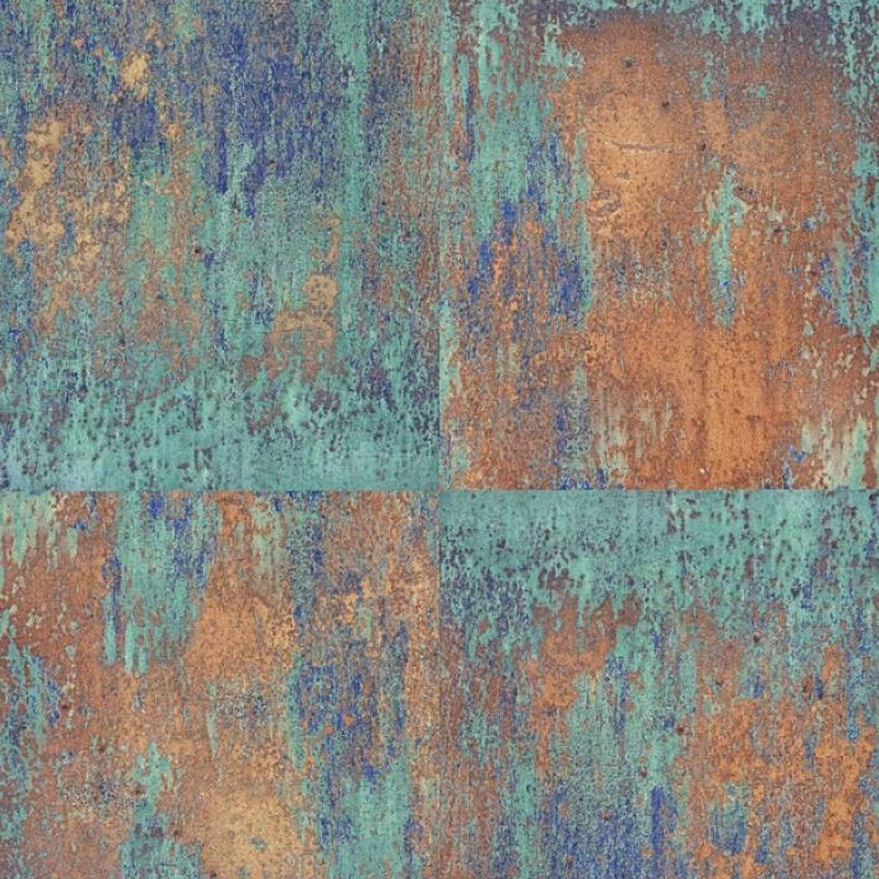 As Creation Wallpaper Neue Bude Oxidized Copper 36118