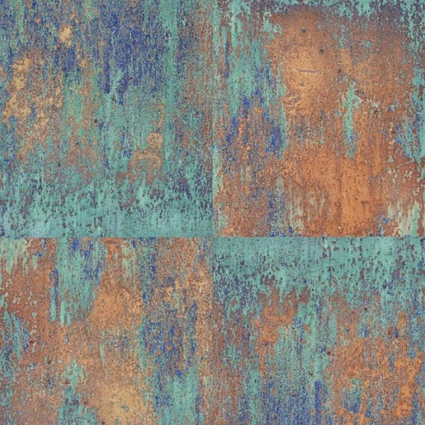 As Creation Wallpaper Neue Bude Oxidized Copper 36118 1