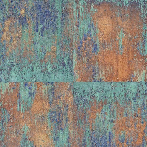 AS Creation Wallpaper | Neue Bude Oxidized Copper | 36118-1